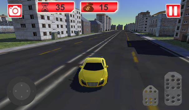 Futuristic Flying Car Racing screenshot 3