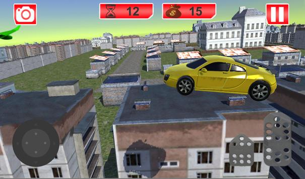Futuristic Flying Car Racing screenshot 7