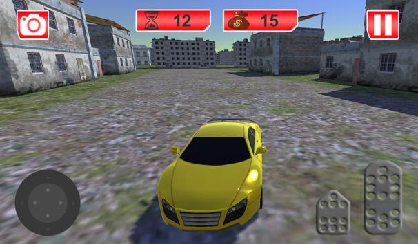 Futuristic Flying Car Racing screenshot 4