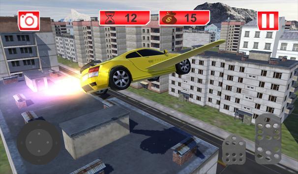 Futuristic Flying Car Racing screenshot 5