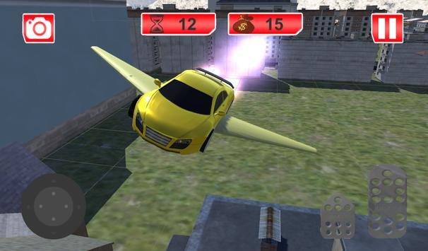 Futuristic Flying Car Racing screenshot 6
