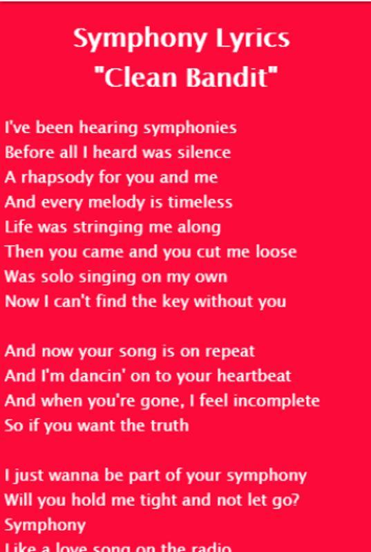 Clean Bandit - Rockabye Lyrics APK ダウンロード- 無料 音楽&オーディオ アプリ ...