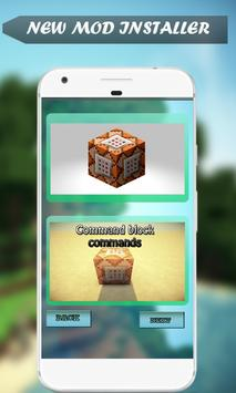 Command Blocks Mod for MCPE poster