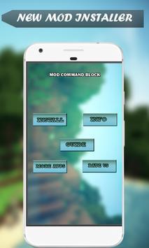 Command Blocks Mod for MCPE apk screenshot
