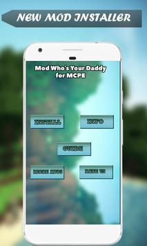 Mod Who's Your Daddy for MCPE screenshot 1