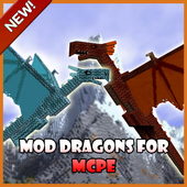 Mod Dragons for MCPE icon