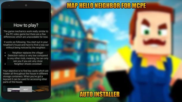 Map Hello Neighbor for MCPE screenshot 1
