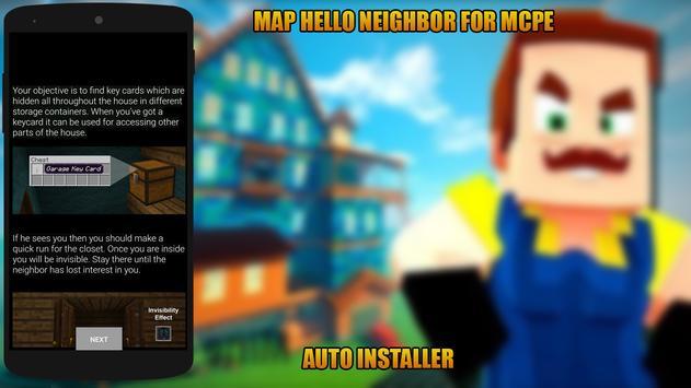 Map Hello Neighbor for MCPE screenshot 2