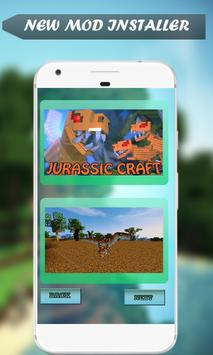 Mod Jurassic Craft for MCPE poster