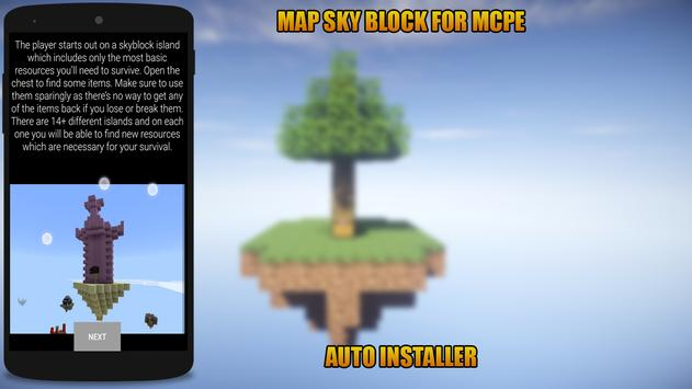Map Sky Block for MCPE for Android - APK Download