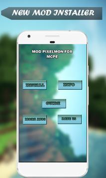 Mod  Pixelmon for MCPE screenshot 1
