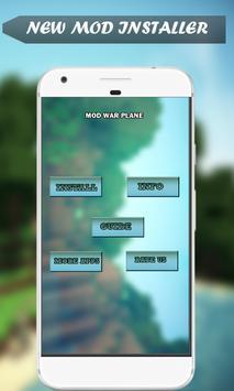 War Plane Minecraft Addon MCPE screenshot 1