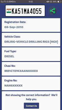 Vehicle Info - India screenshot 2