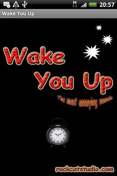 Wake You Up poster