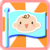 Baby Learns Flag icon