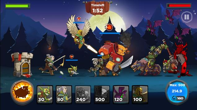 Castle Kingdom: Crush in Strategy Game Free تصوير الشاشة 3