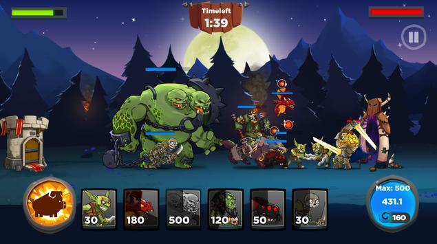 Castle Kingdom: Crush in Strategy Game Free تصوير الشاشة 4