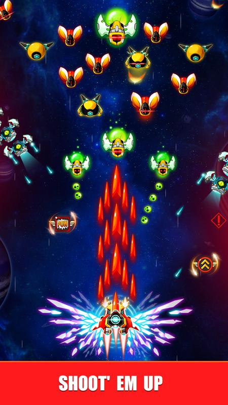 Galaxy attack alien shooter how to use bombs