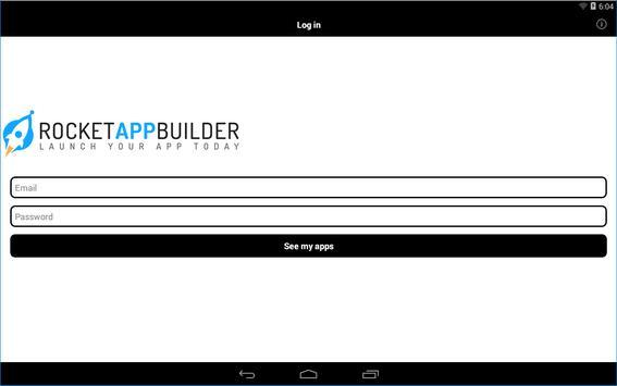 Rocket App Builder Previewer screenshot 1
