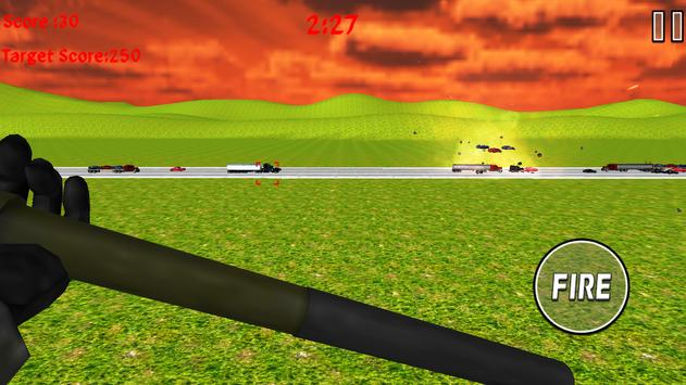 Rocket Launcher Traffic Shooter screenshot 20