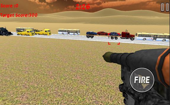 Rocket Launcher Traffic Shooter screenshot 2