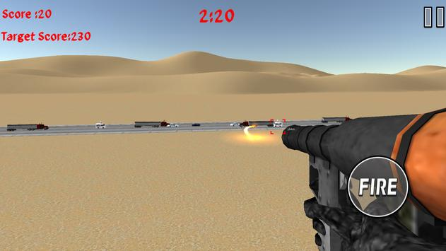 Rocket Launcher Traffic Shooter screenshot 7
