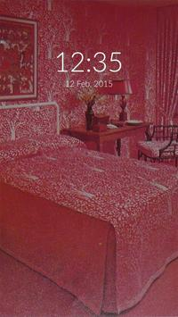 The Red Room Wall & Lock poster