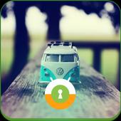 Toy Car Wall & Lock icon