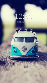 Toy Car Wall & Lock poster