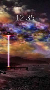 UFO Wall & Lock poster