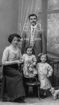 Vintage Family Pic Lock Screen screenshot 2