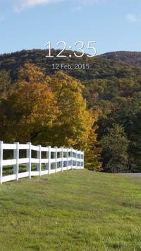 White Fence Wall & Lock apk screenshot