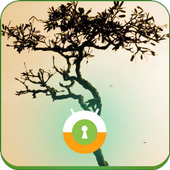 A moment of peace Wall & Lock icon