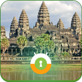 Angkor Vat Wall & Lock icon