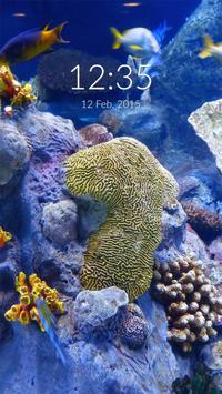 Aquarium 3D Wall & Lock screenshot 2