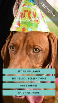 Birthday Dog Wall & Lock screenshot 5