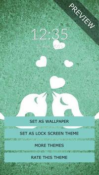 Birds Heart Wall & Lock screenshot 3