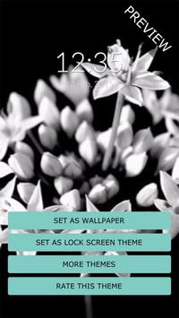 Black & White Flow Wall & Lock apk screenshot