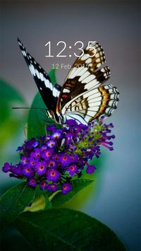 Butterfly Wall & Lock poster