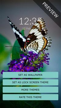 Butterfly Wall & Lock apk screenshot