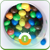 Colourful Candies Wall & Lock icon