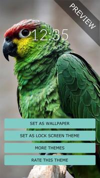 Green Parrot Wall & Lock screenshot 1