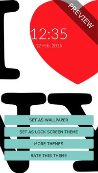 I love New York Wall & Lock apk screenshot