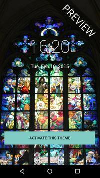 Church Window Paint LockScreen screenshot 3