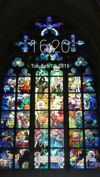 Church Window Paint LockScreen poster