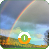 Rainbow Wall & Lock icon