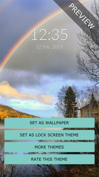 Rainbow Wall & Lock screenshot 1