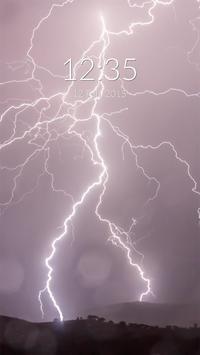 Storm Thunder Wall & Lock poster