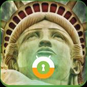 Statue of Liberty Wall & Lock icon