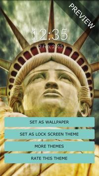 Statue of Liberty Wall & Lock screenshot 1